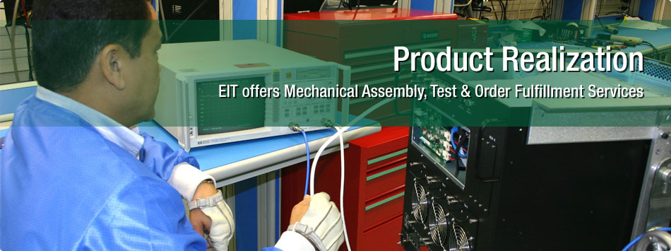contract electronic manufacturing - surface mount technology (SMT) and Through-Hole Technology (THT) assemblies