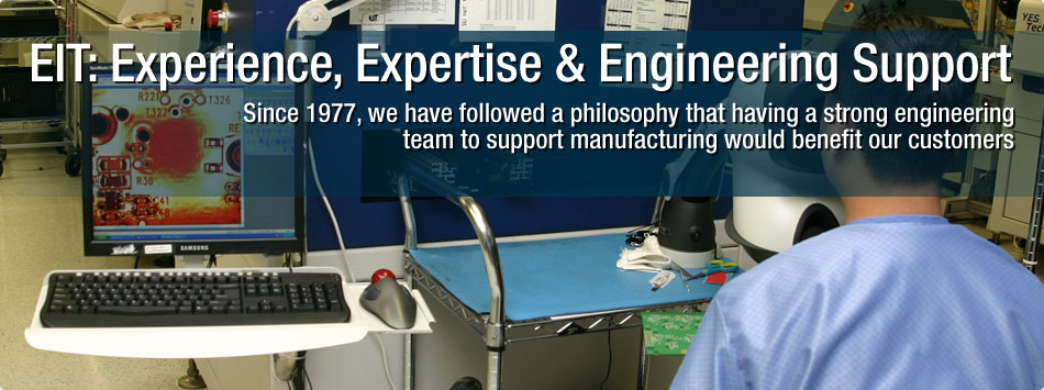 EIT: Experience, Expertise & Engineering Support